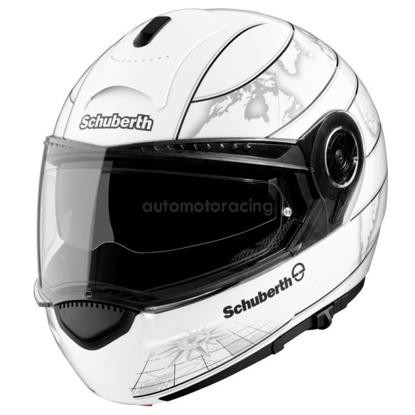 casque-modulable-schuberth-c3-world-blanc
