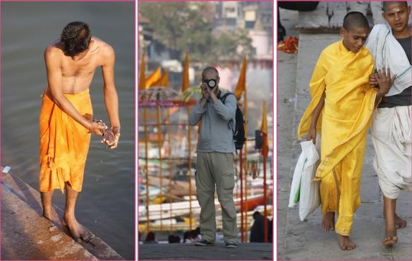 Hommes en jaune