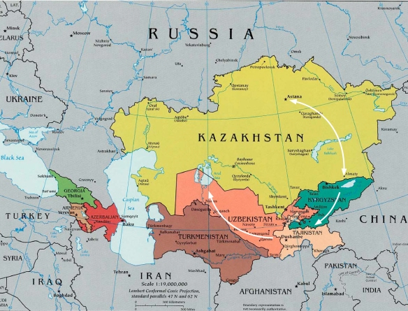 Central Asia Path