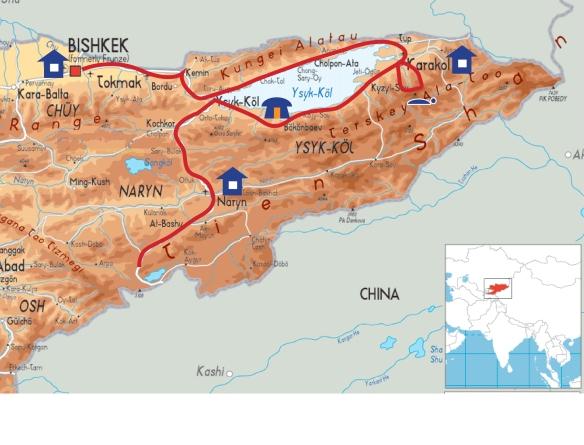 Kirghistan Path