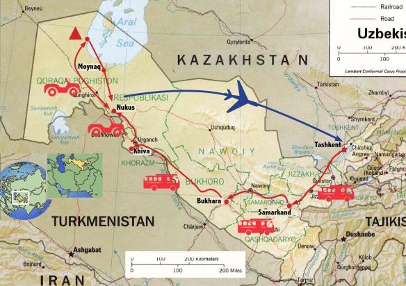 uzbekistan path
