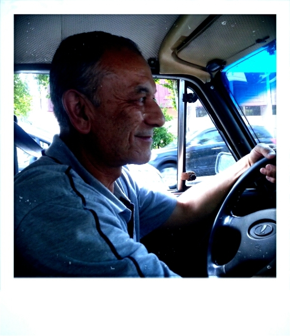 taschkent driver