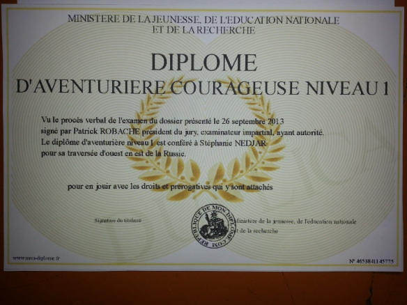 Diplome aventuriere