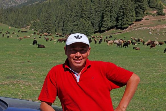 driver kirghisztan