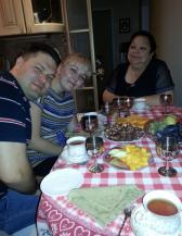Slava et family
