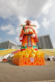 A couple of days later, I would be flying to another senor, attending the Cinese New Year's Eve in SIngapore.