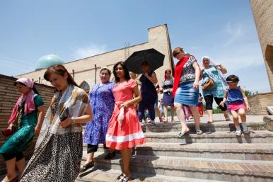 Uzbekistan - Tashkent - Dressed for whatever happens