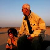 North India - Thar desert - Sunset giggles