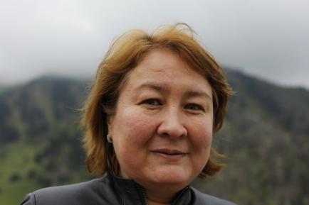 Kazakhstan - Almaty - She'll drive me all over