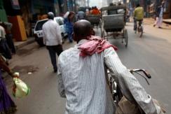 India - Varanasi - When bicycling becomes too demanding