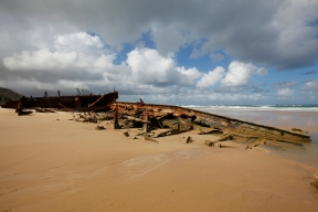 Australia - Frazer Island - Wreck
