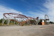 Russia - Novosibirsk - Luna Park and the Rust Belt