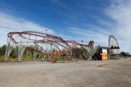 Russia - Novosibirsk - Luna Park and the Rust Belt