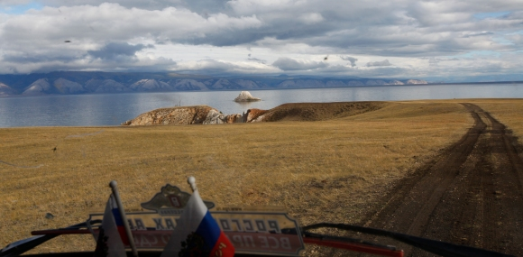 Russia - Baikal Lake from my Uaz truck
