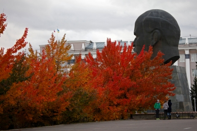 Russia - Ulan Ude - Biggest Lenin's head in the universe